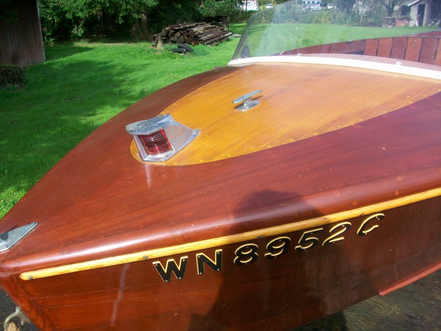 Gail Palmquists runabout, Boat was made in Bellingham, Can anyone tell me the brand?