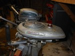 1941 Wizard 3hp and a Evinrude 1.5hp