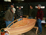 Dicks hand milled cedar rowboat project